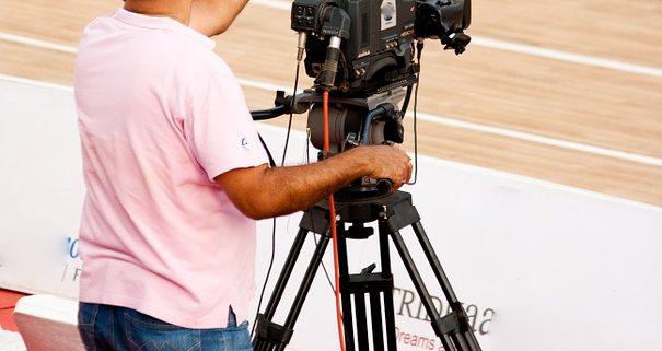 Camara televisio basquet