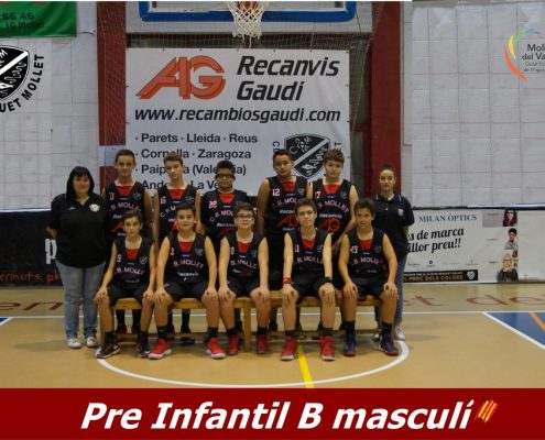 11 Pre Infantil B masculí