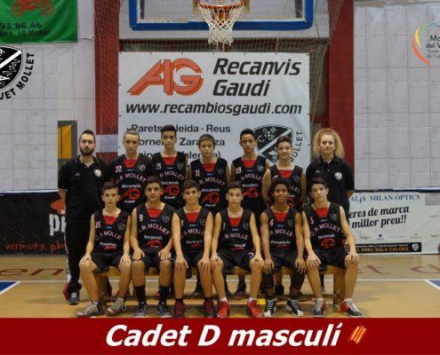 17 Cadet D masculí