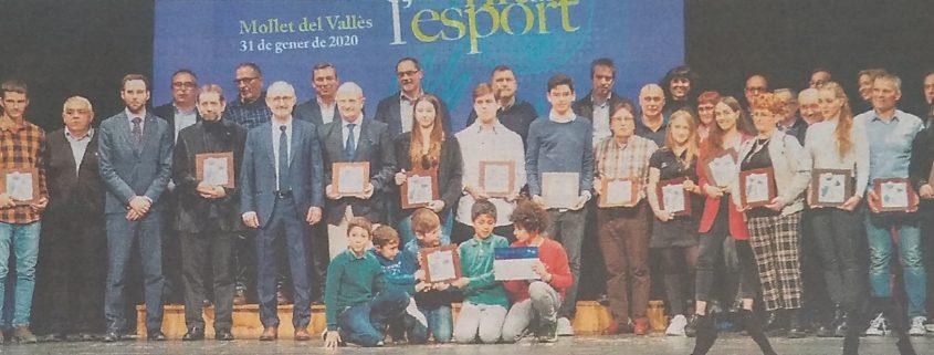 Foto familia Nit de Esport 2020