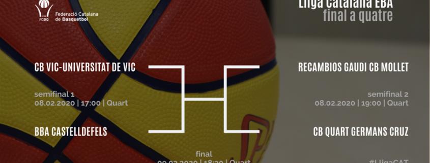 Final a Quatre 8 i 9 de Febrer - Lliga Catalana EBA