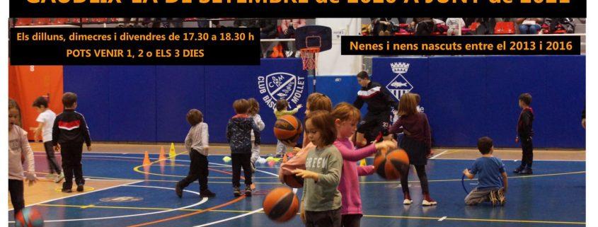 Escola de basquet 2020 - 2021
